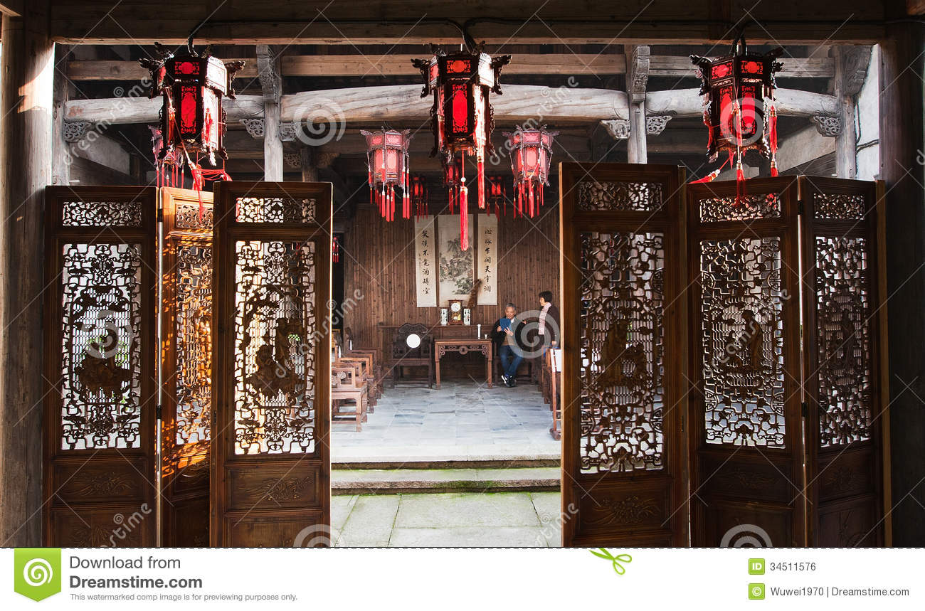 Royalty Free Stock Image Old House China Ancient There Were Lots Typically Image34511576 on living room home plans