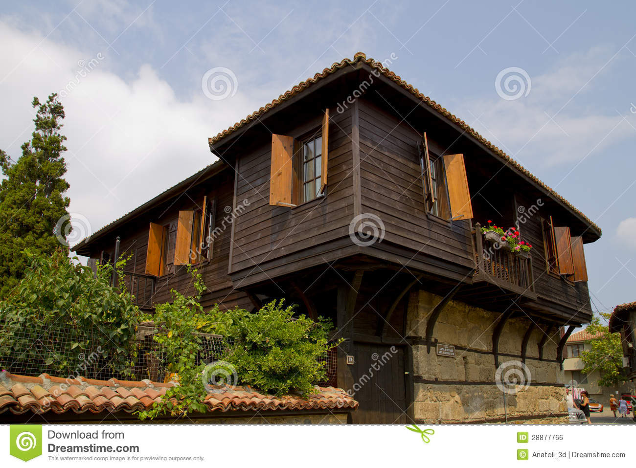 Old house in the city of Sozopol