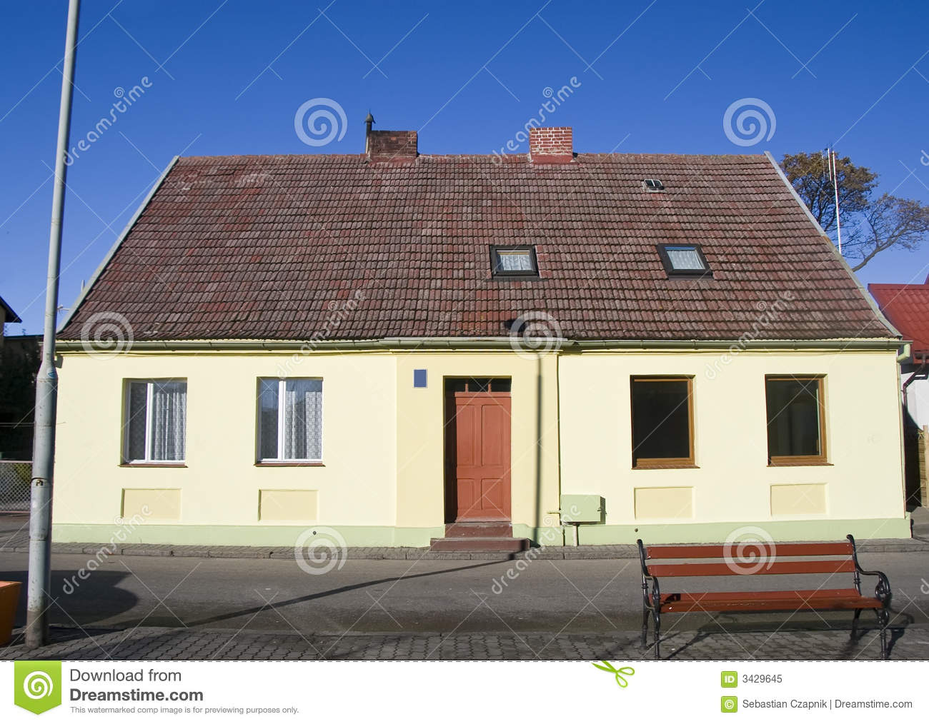 Old house facade poland royalty free stock photo image for Classic house facades