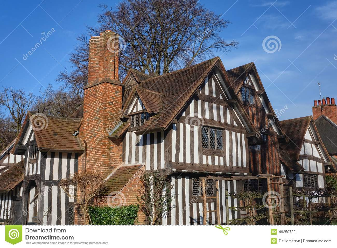 Old House Stock Photo Image 49250789