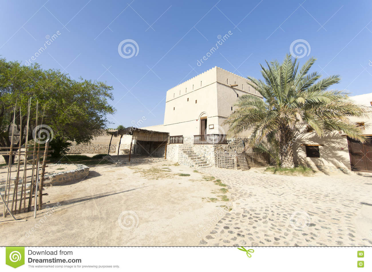 Old House In The Highlands Of Ras Al Khaimah United Arab Emirates Stock Photo Image 71494277