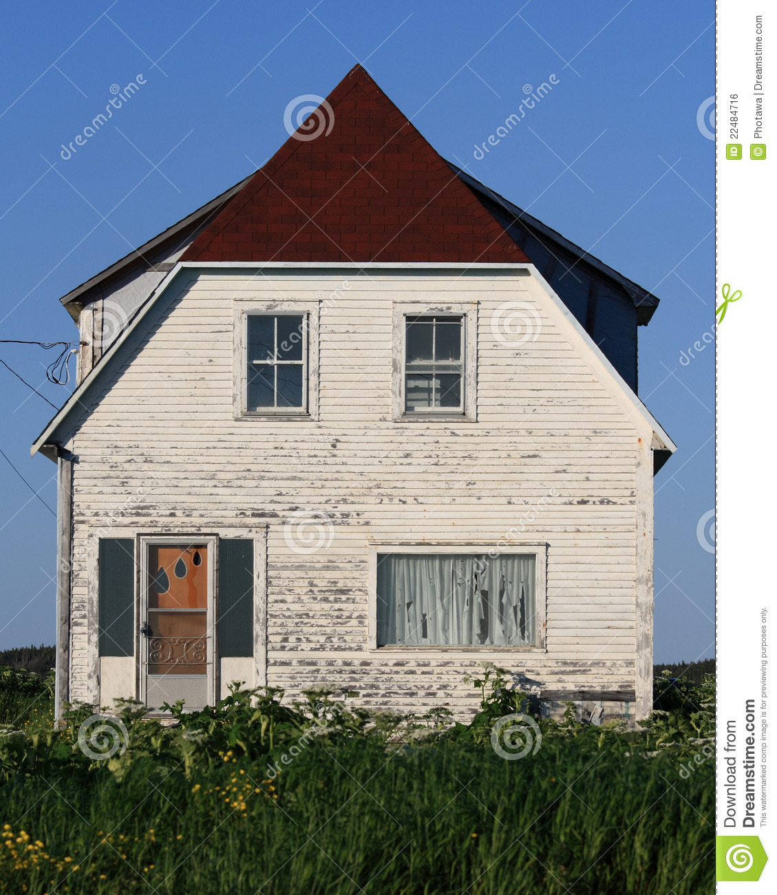 Old House In Raleigh Royalty Free Stock Image Image