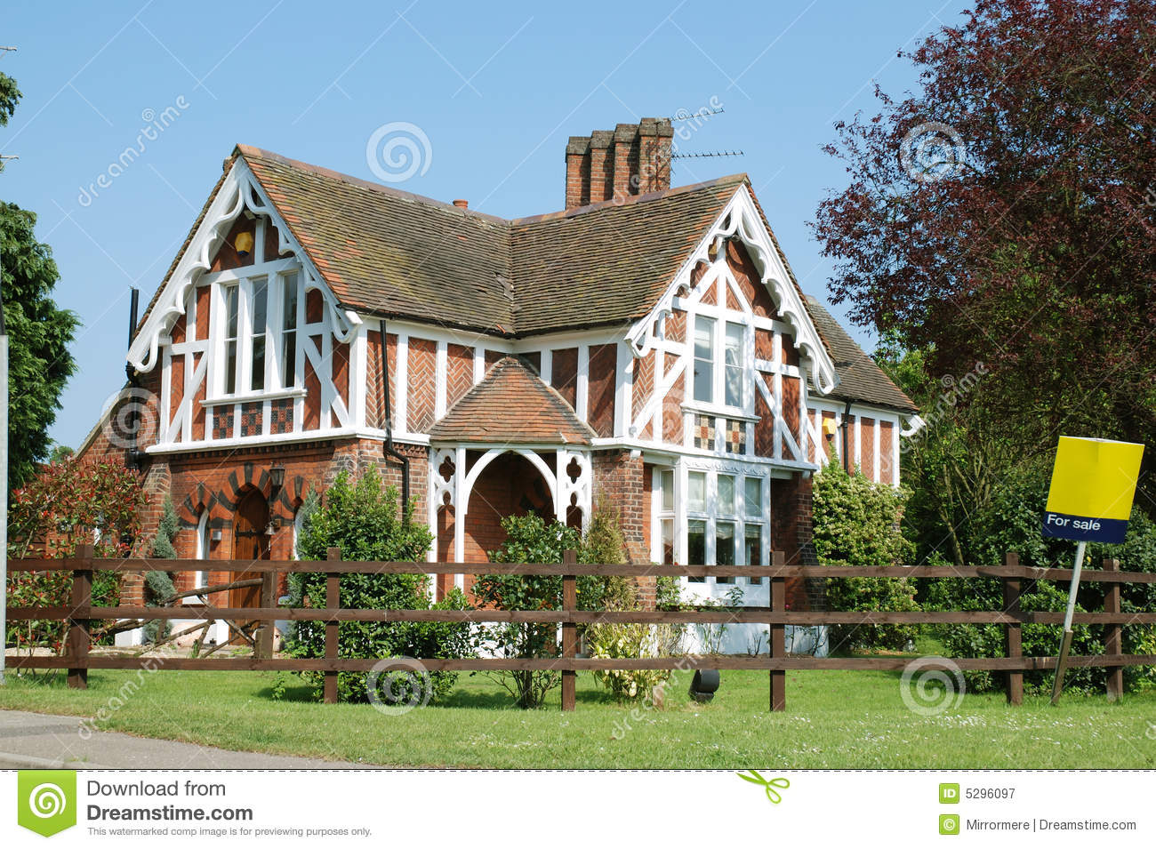 old house for sale stock image image of redbrick architecture
