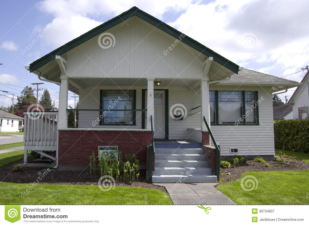 Old house stock image image of architecture level clean for Small house builders washington state