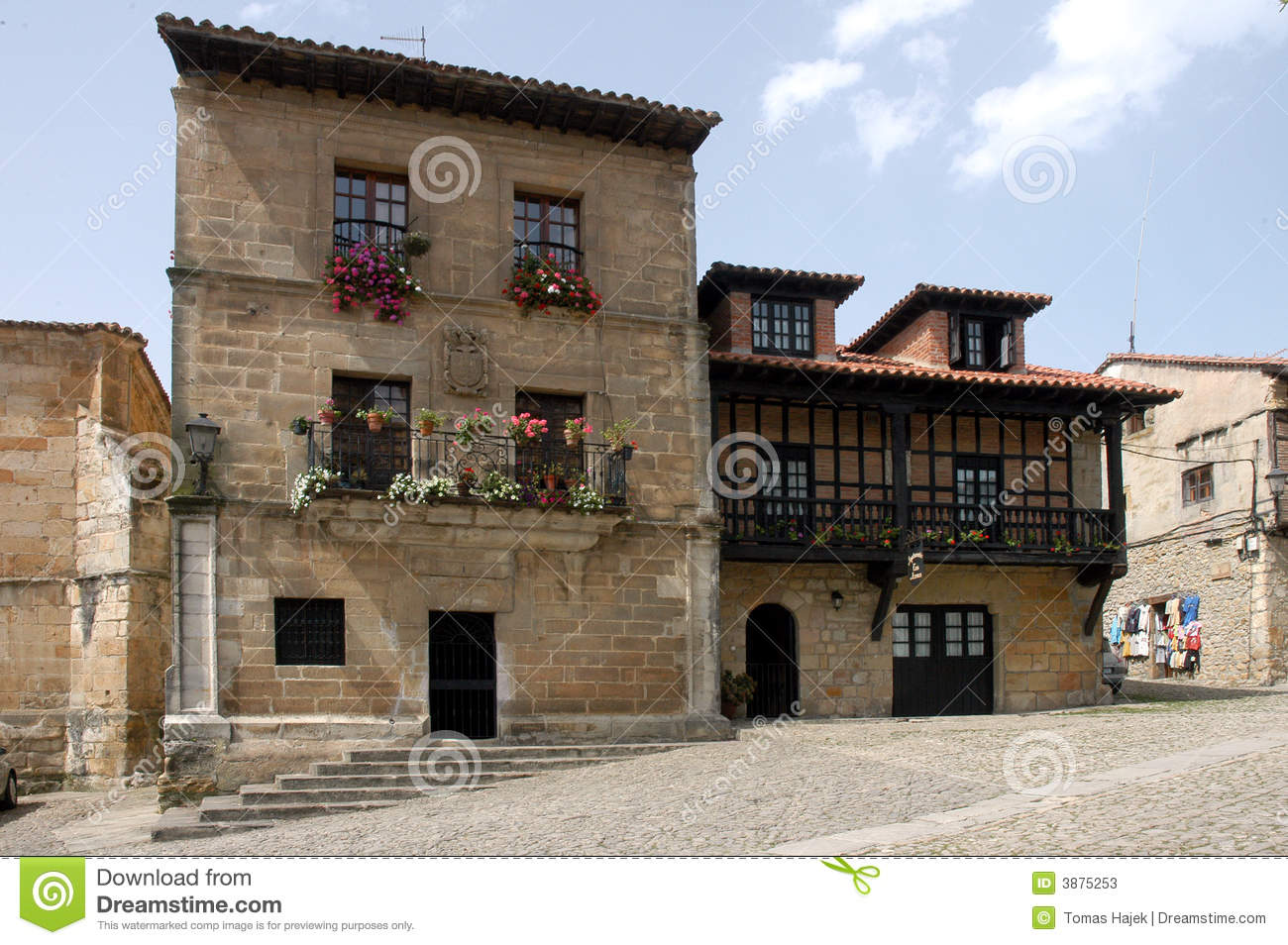 Old house spain stock image image of street travel town for Open house spain