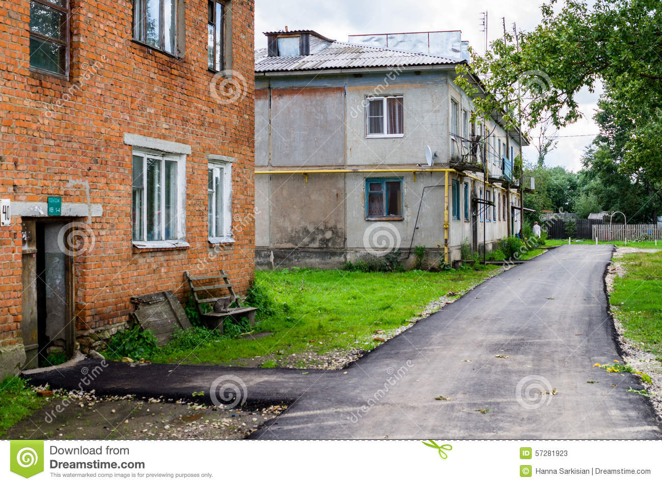 Stock Photos Old Houses In Russia Image 57281923