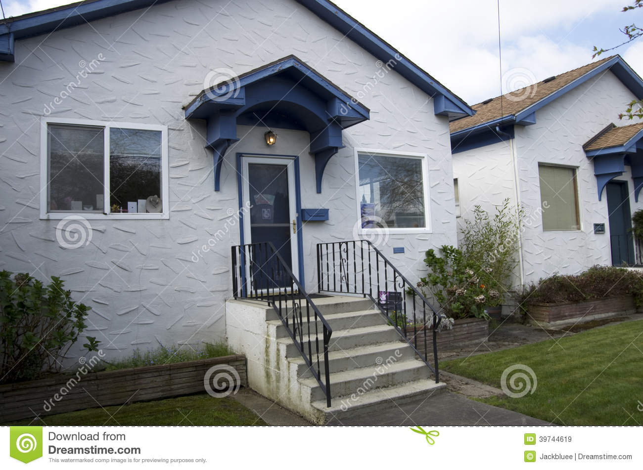 Old houses stock image image of estate houses level for Small house builders washington state