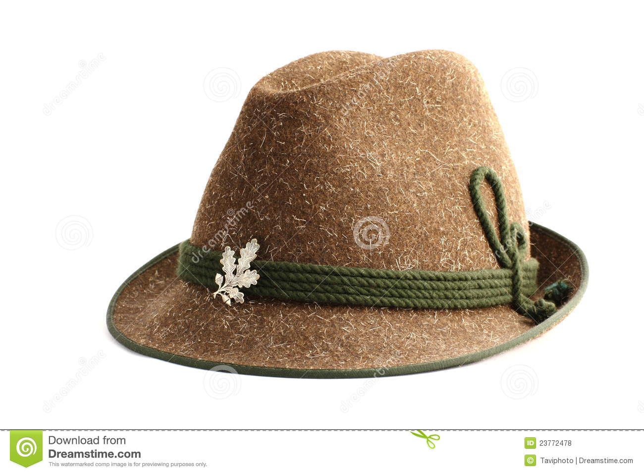 old hunting hat royalty free stock photos image 23772478