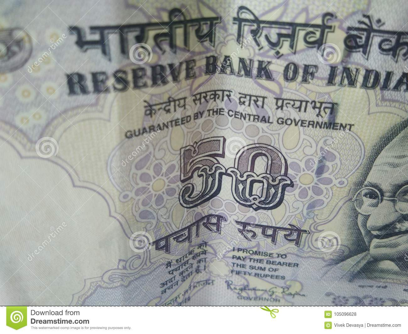 Indian Currency Bank Notes  Stock Photo - Image of bank