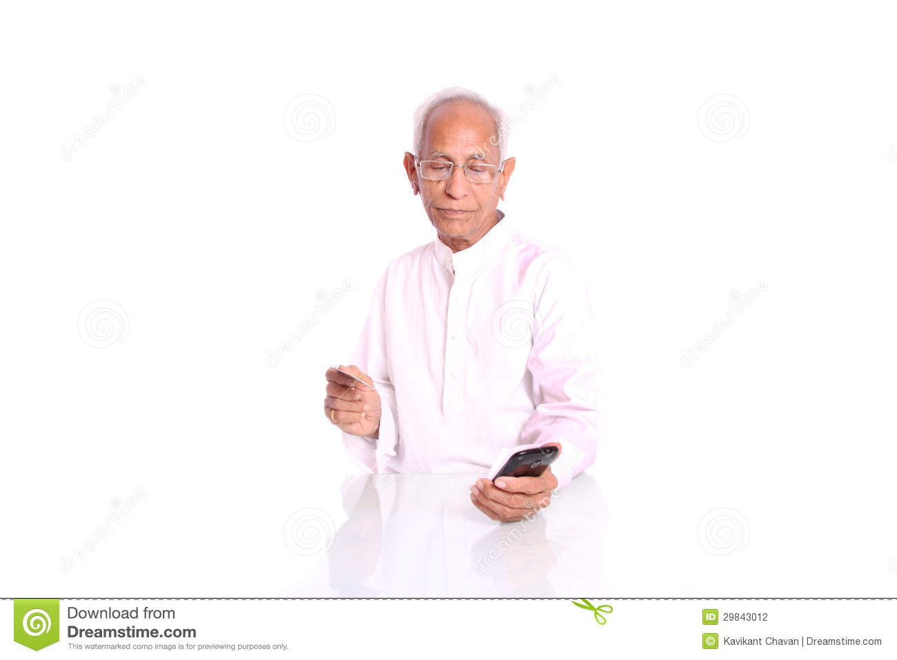 an old man using internet banking stock photography image 29843012. Black Bedroom Furniture Sets. Home Design Ideas