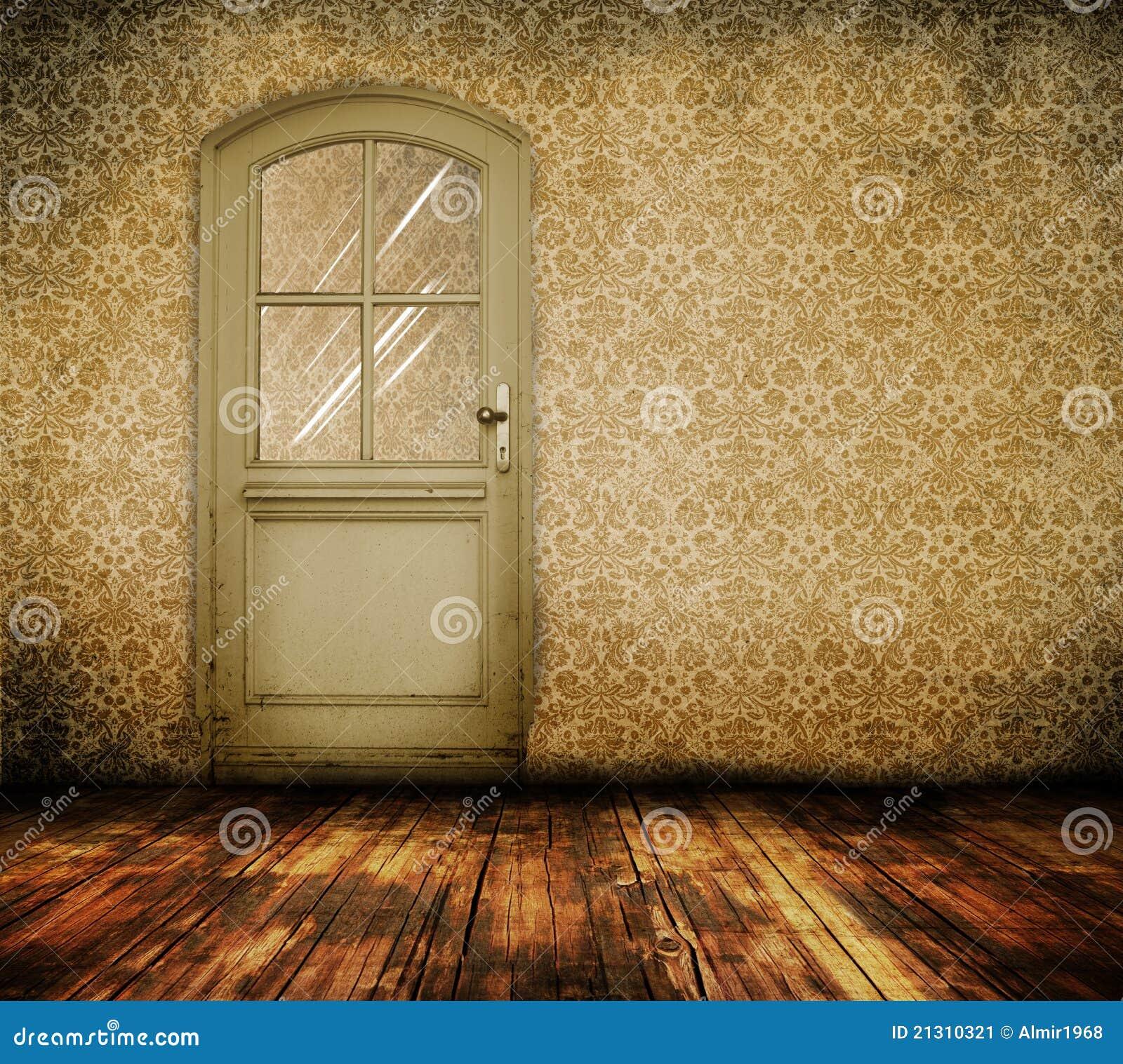 Old Interior Door Stock Image Image 21310321