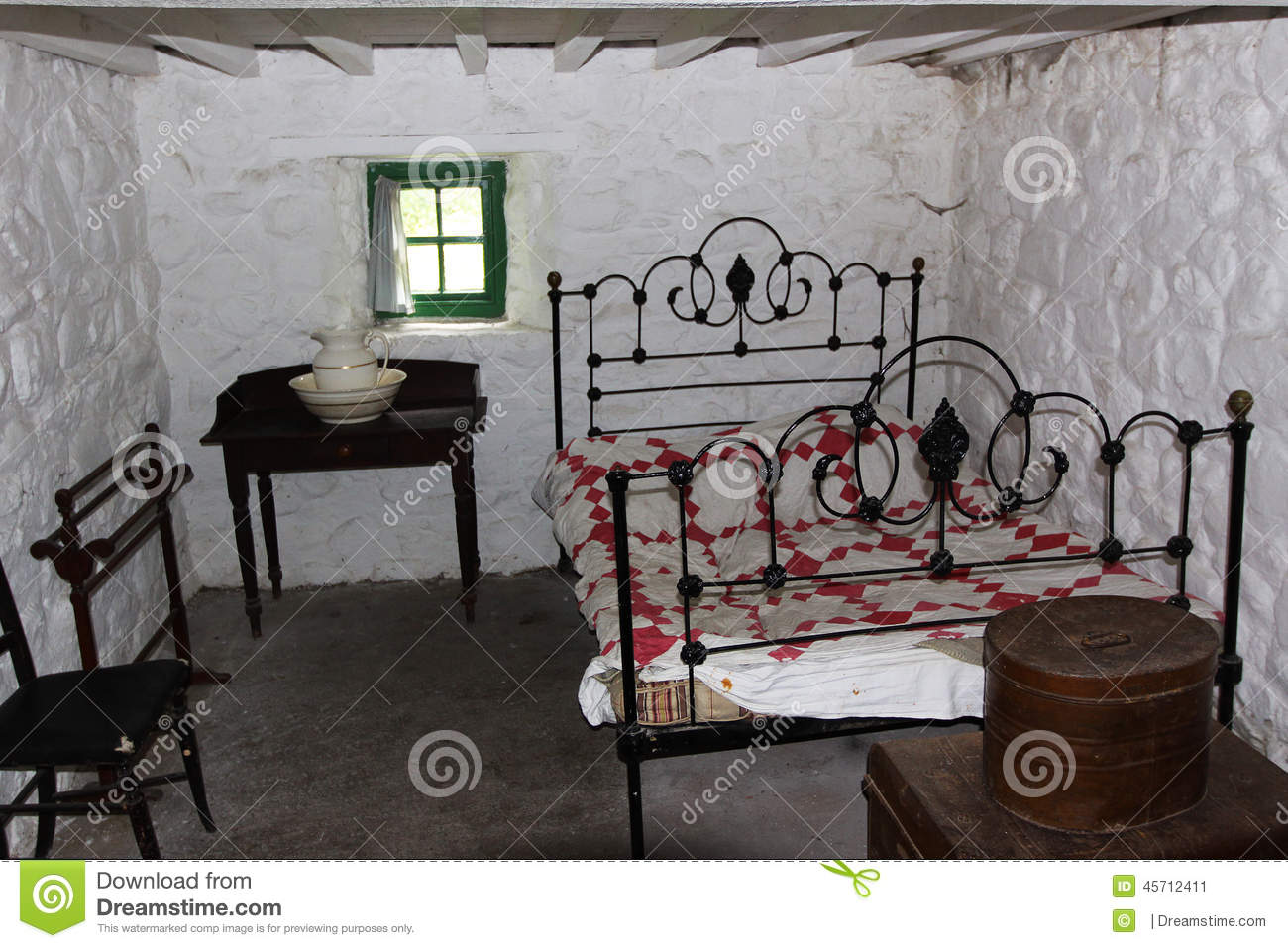 Old irish bedroom stock photo image 45712411 for Irish bedroom designs