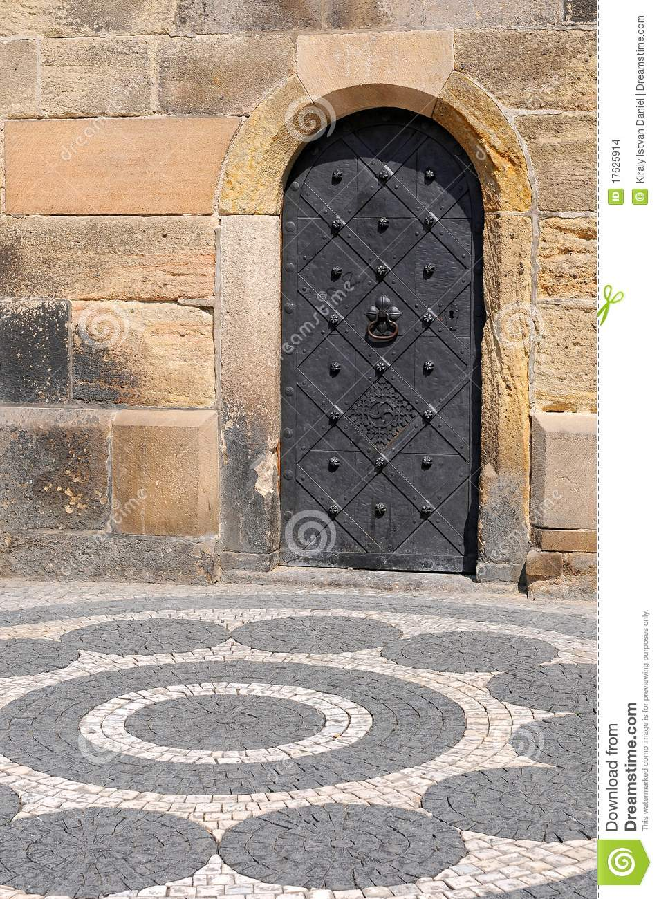 Old Iron Door Stock Images Image 17625914