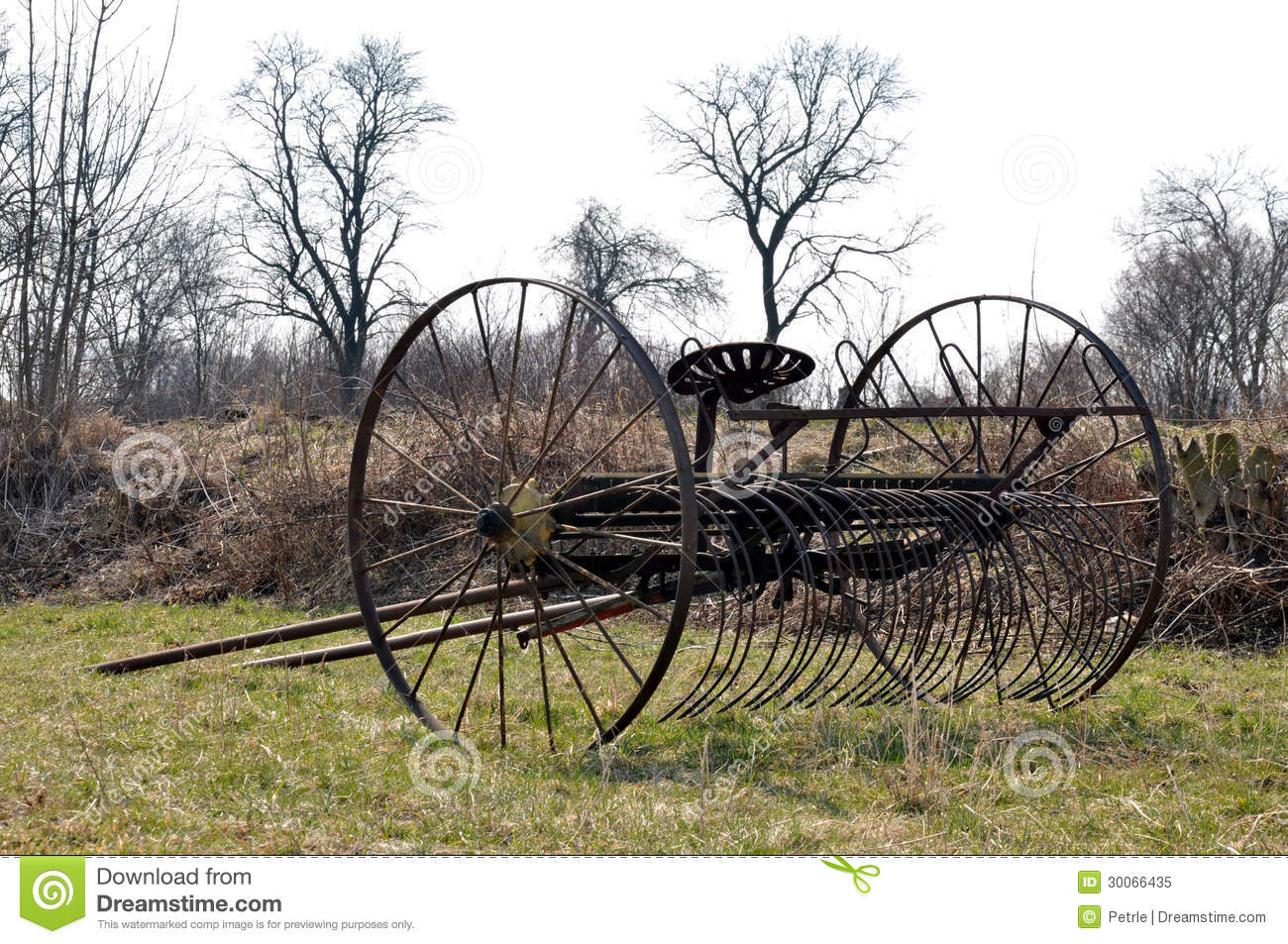 Old Plow Royalty Free Stock Photo - Image: 30066435