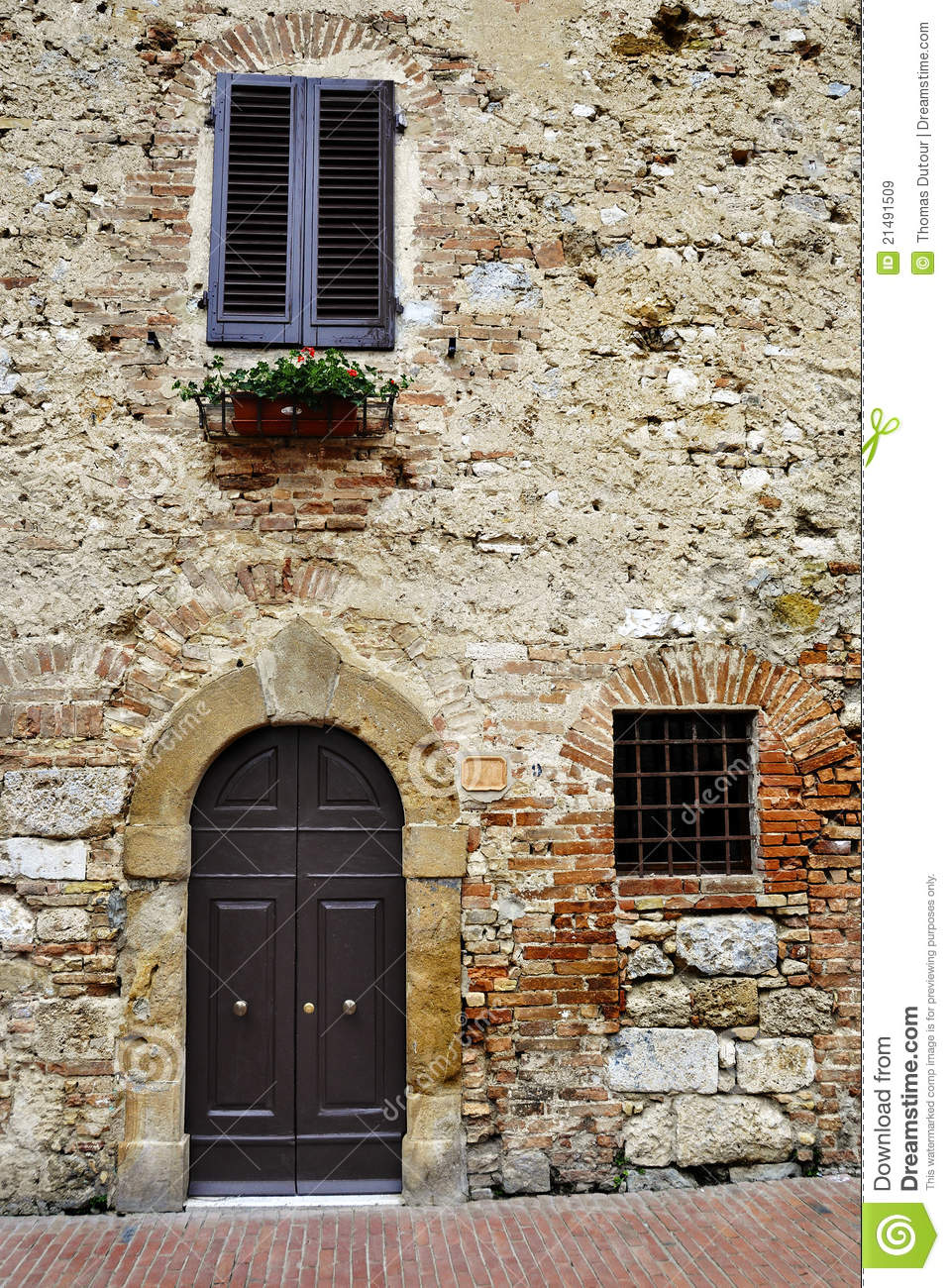 Old Italian House Royalty Free Stock Images Image 21491509