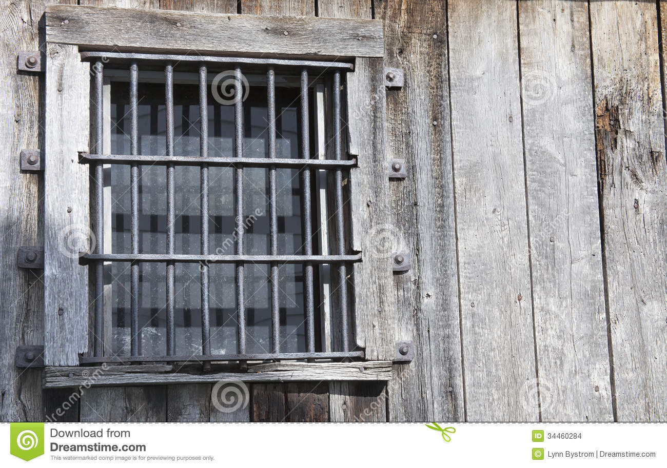 Old Jail Window Stock Images Image 34460284