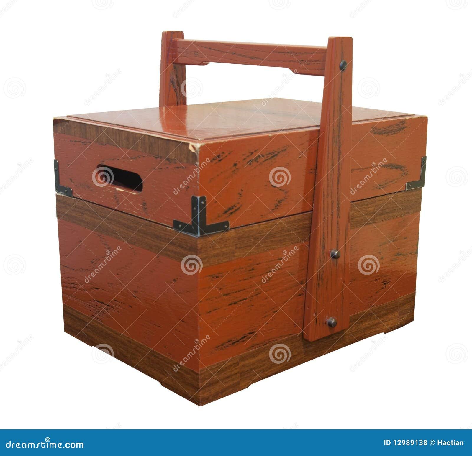Old Japanese Box Stock Photo Image Of White Storage