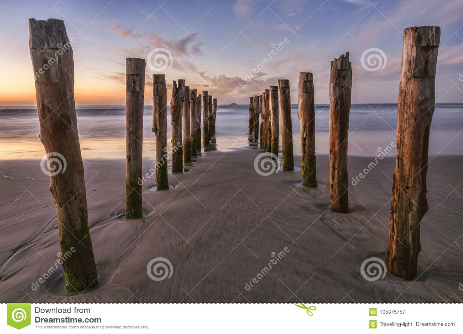 Old Jetty St Clair Beach Dunedin