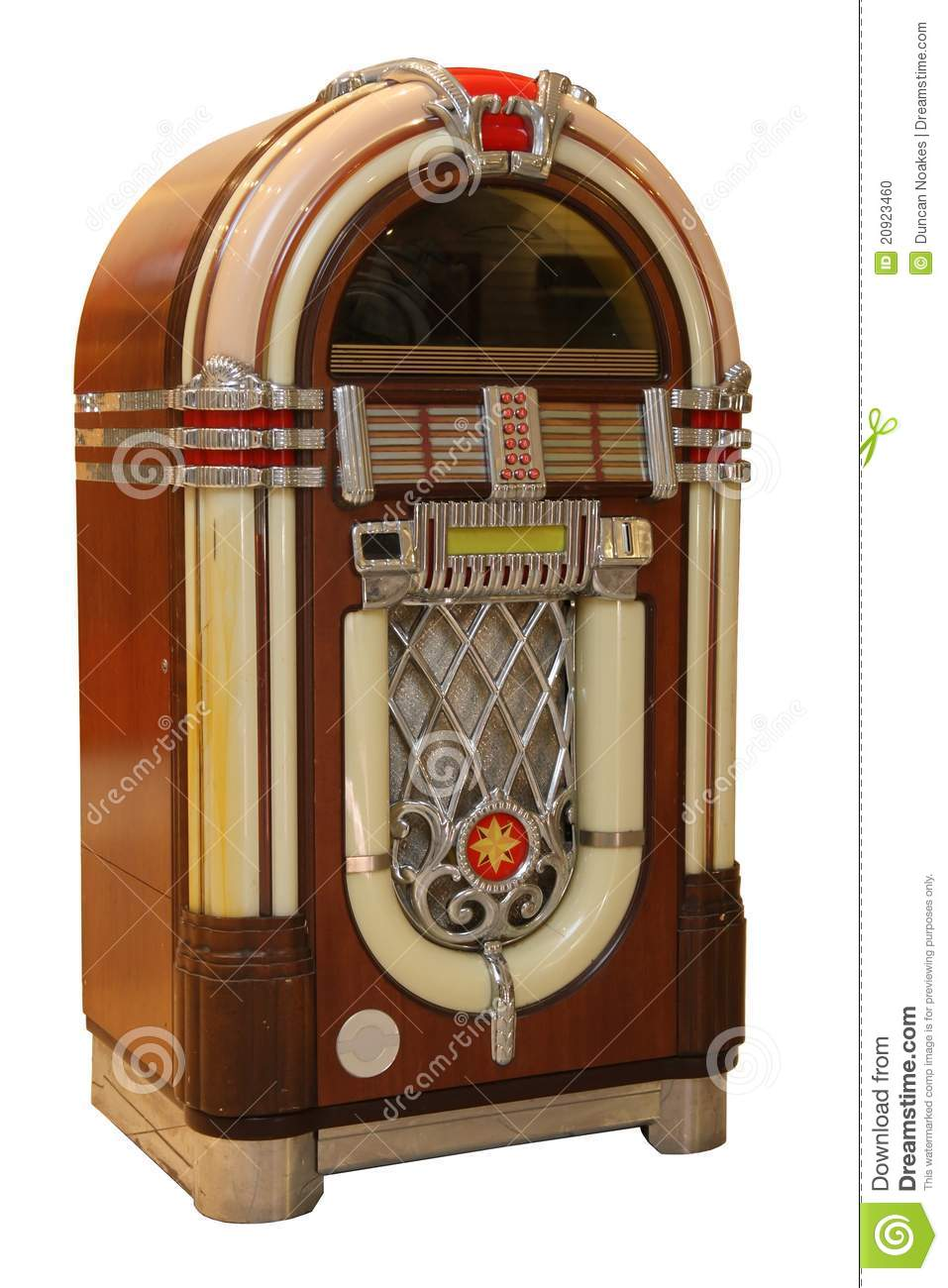 Old Jukebox Music Player stock photo. Image of player - 20923460