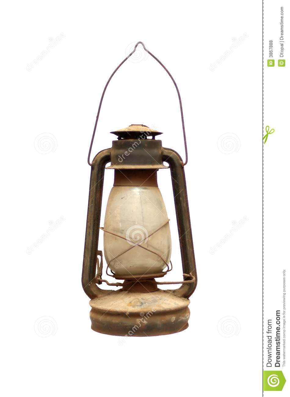 Old Kerosene Lamp Stock Photo Image Of Antique Kerosene