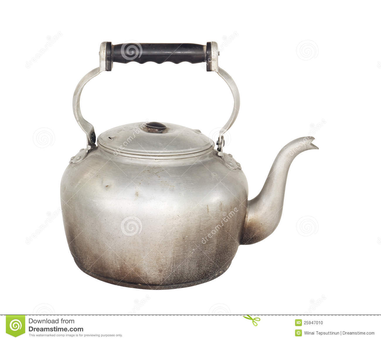 Old Kettle Stock Photo - Image: 25947010