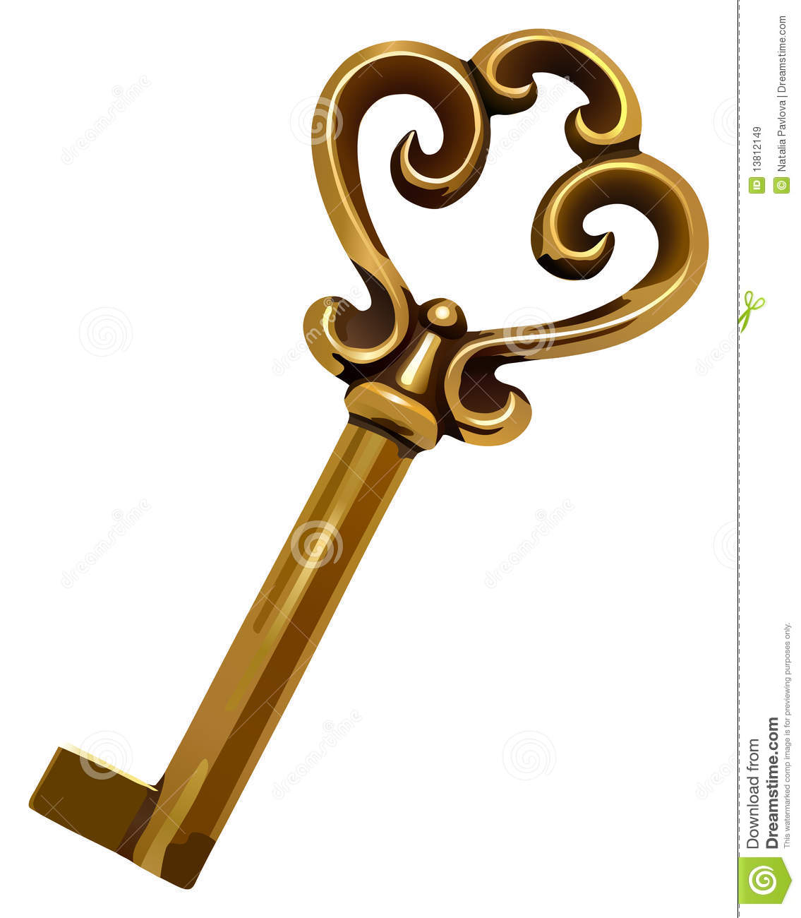 Old Key Royalty Free Stock Images - Image: 13812149