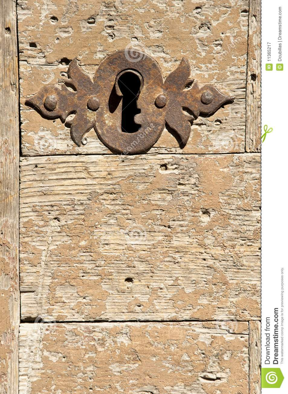 Old Keyhole Stock Image Image Of Decay Aged Handle