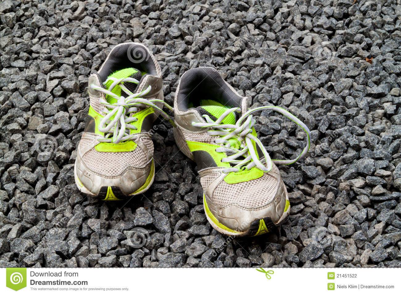 Old Kids Running Shoes Stock Photography Image 21451522