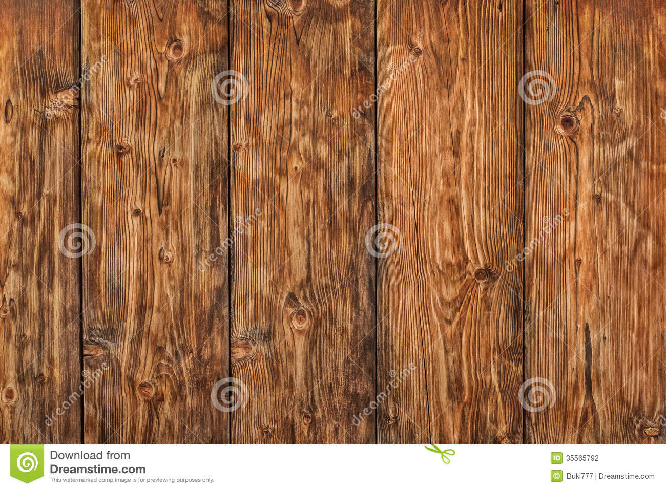 old knotted weathered pine planks fence   detail stock