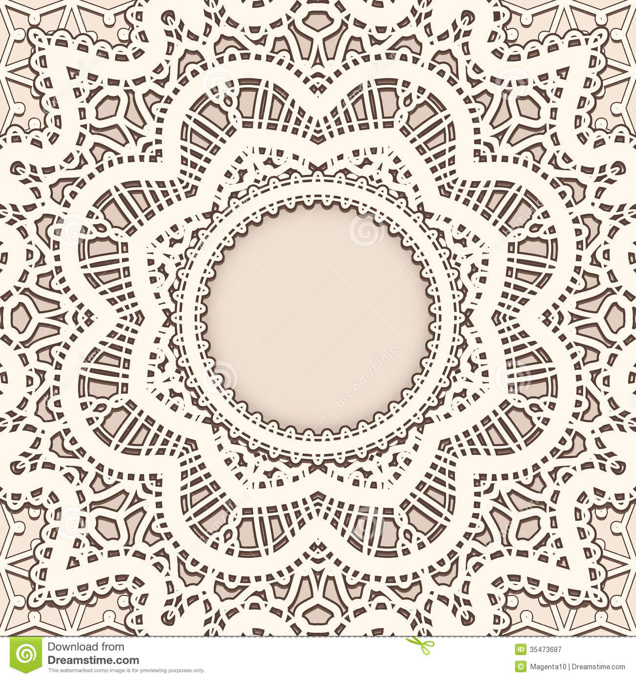 Old Lace Background Royalty Free Stock Photography Image