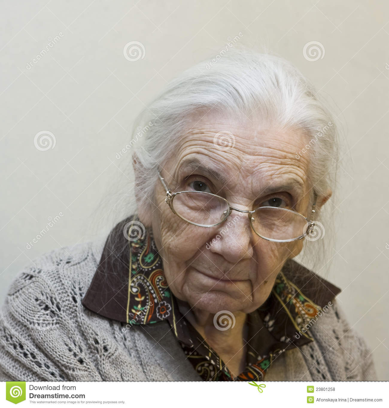 Old Lady Royalty Free Stock Photos - Image: 23801258