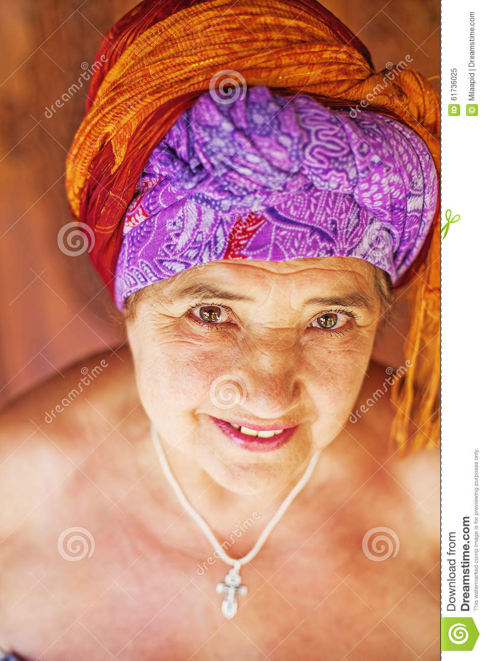 old lady portrait stock image. image of nude, monochrome - 61736025