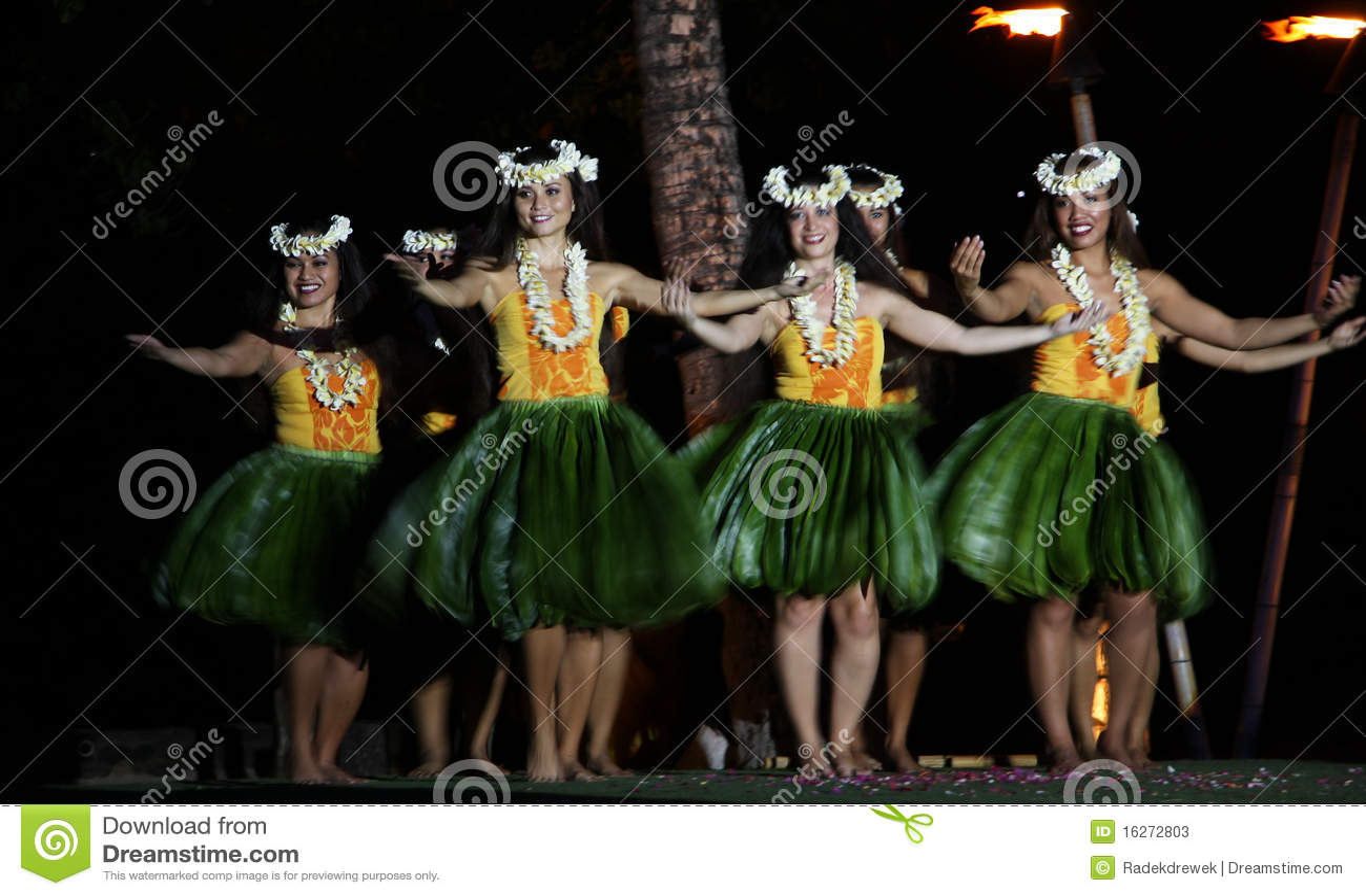 Old Lahaina Luau - Hawaii dancer