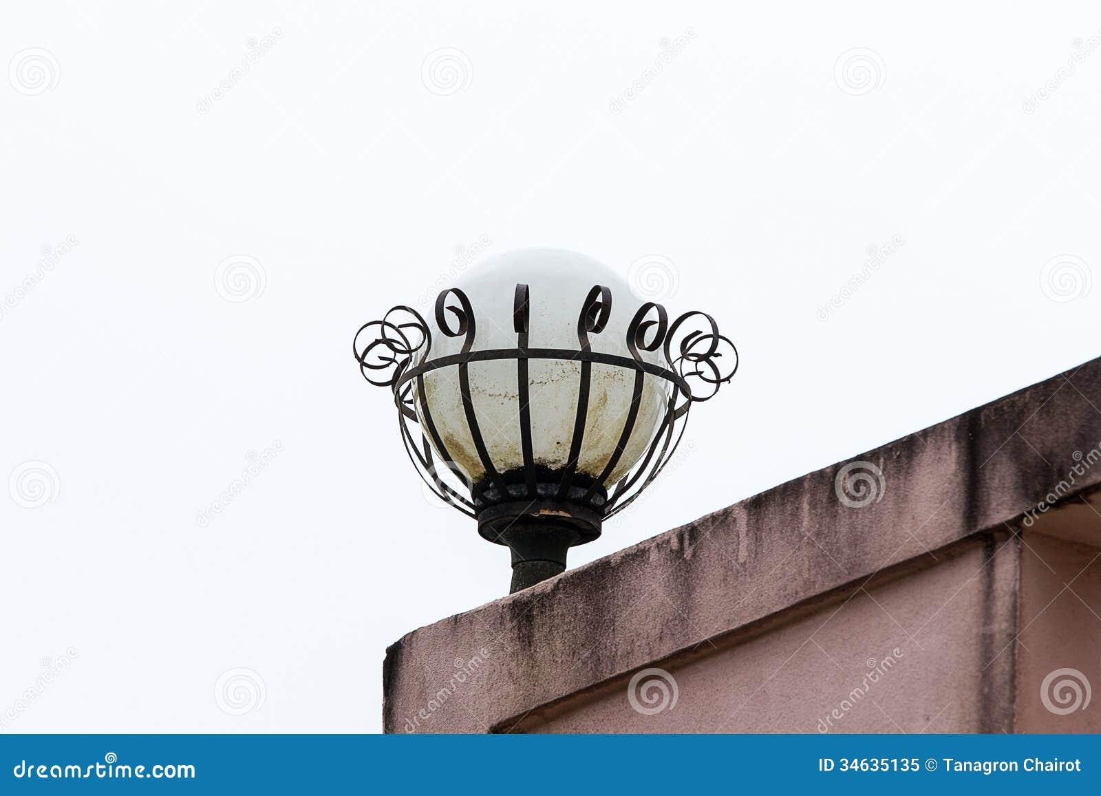 old lamp royalty free stock photo image 34635135. Black Bedroom Furniture Sets. Home Design Ideas