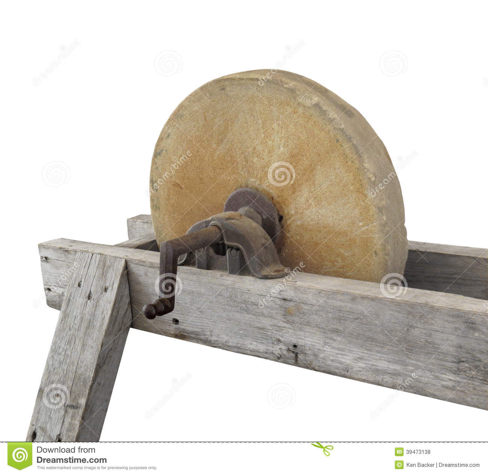 Old Fashioned Sharpening Wheel