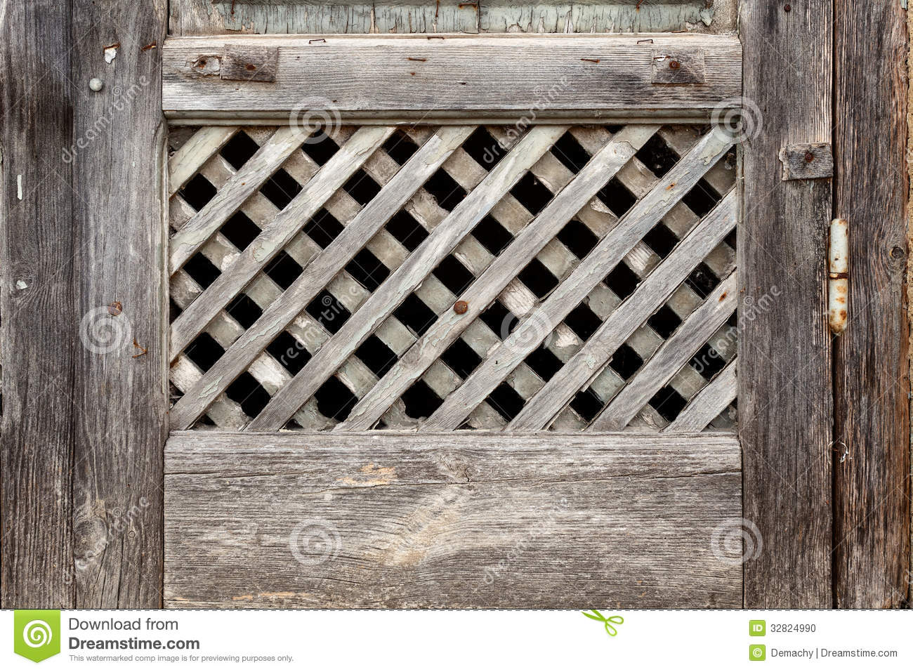 old lattice of the window stock photo image of outdoors 32824990