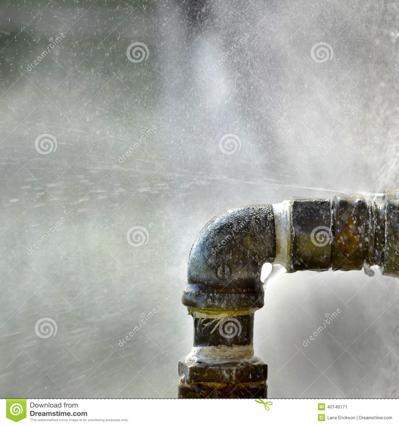 Old Leaky Pipes Stock Photo Image 40146171