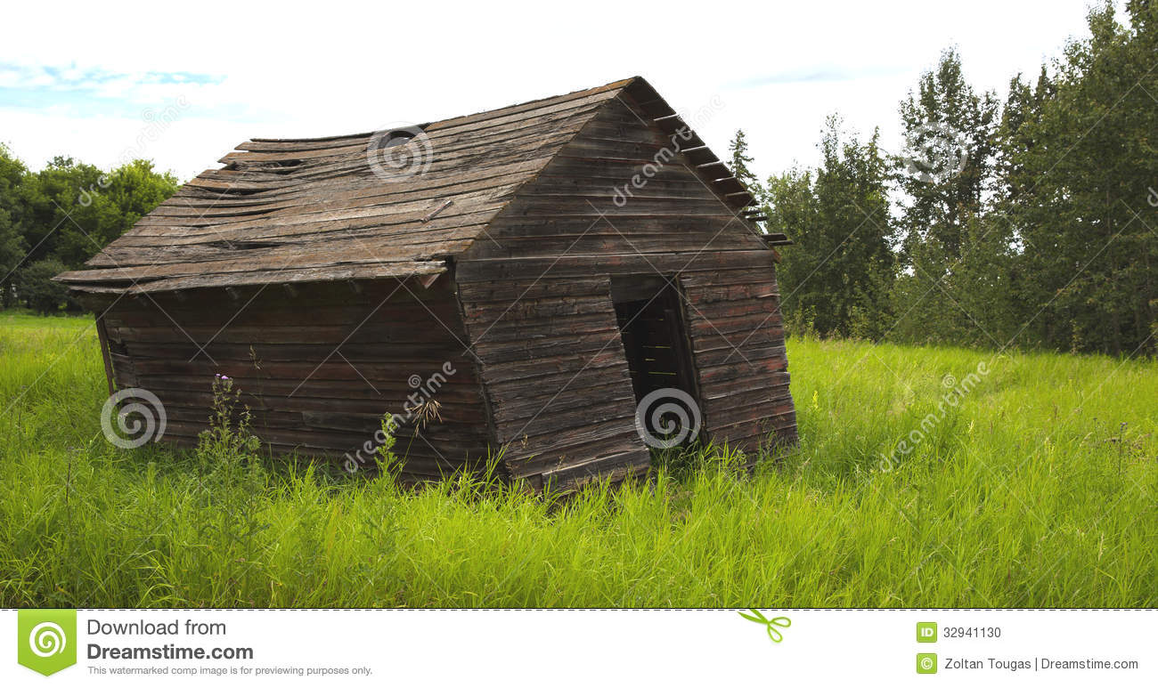 old leaning farm shed stock photo image of brown collapse 32941130