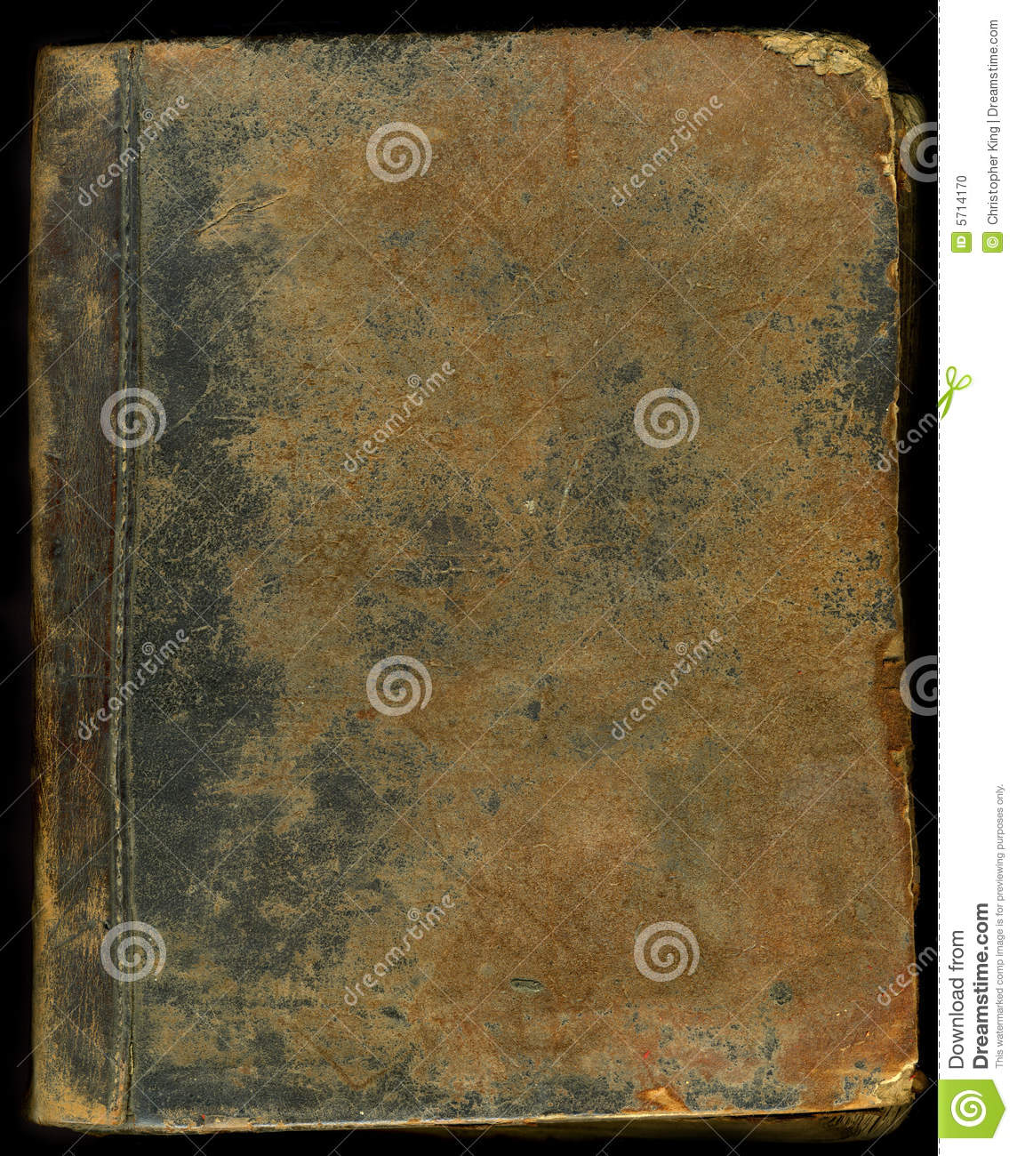 Old Leather Book Cover Images : Old leather book cover stock photo image