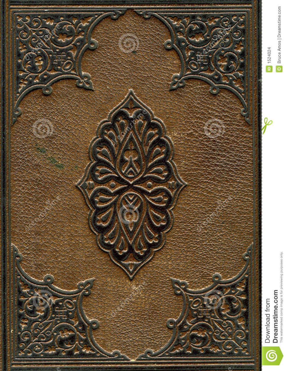 Old Book Cover Photo Tutorial : Old leather bound bible stock photo image of stain paper