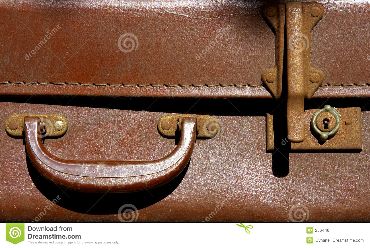 Handle On An Old Suitcase Stock Illustration - Image: 71182919