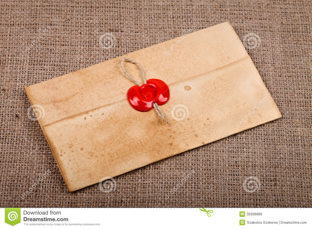 Old Letter Royalty Free Stock Images - Image: 35936889