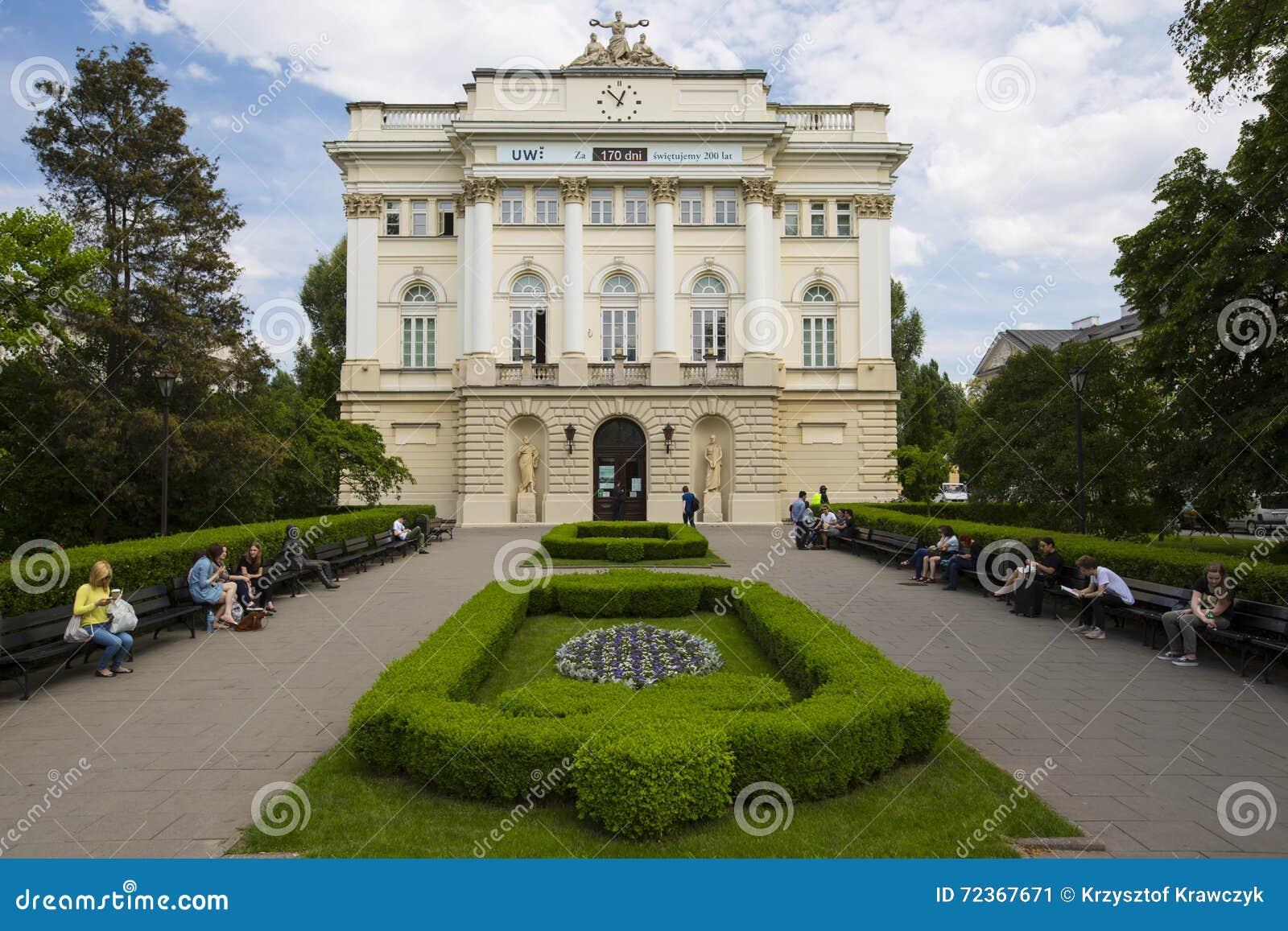 Old LibraryAt The University Of Warsaw,, Poland