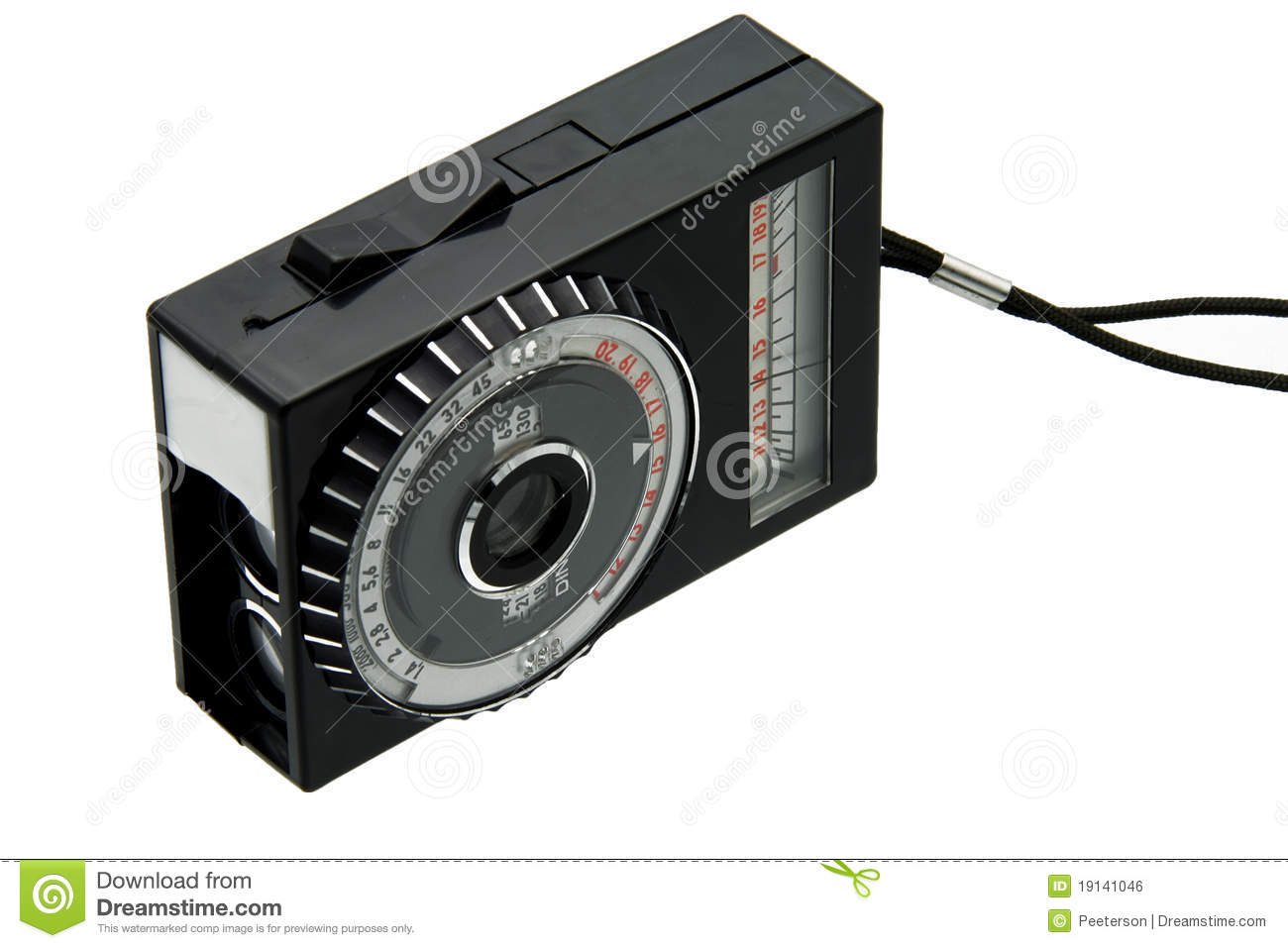 Old light meter stock photo  Image of retro, gauge, exposure