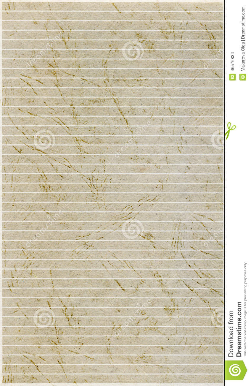 Old lined paper texture stock photo. Image of textures ...