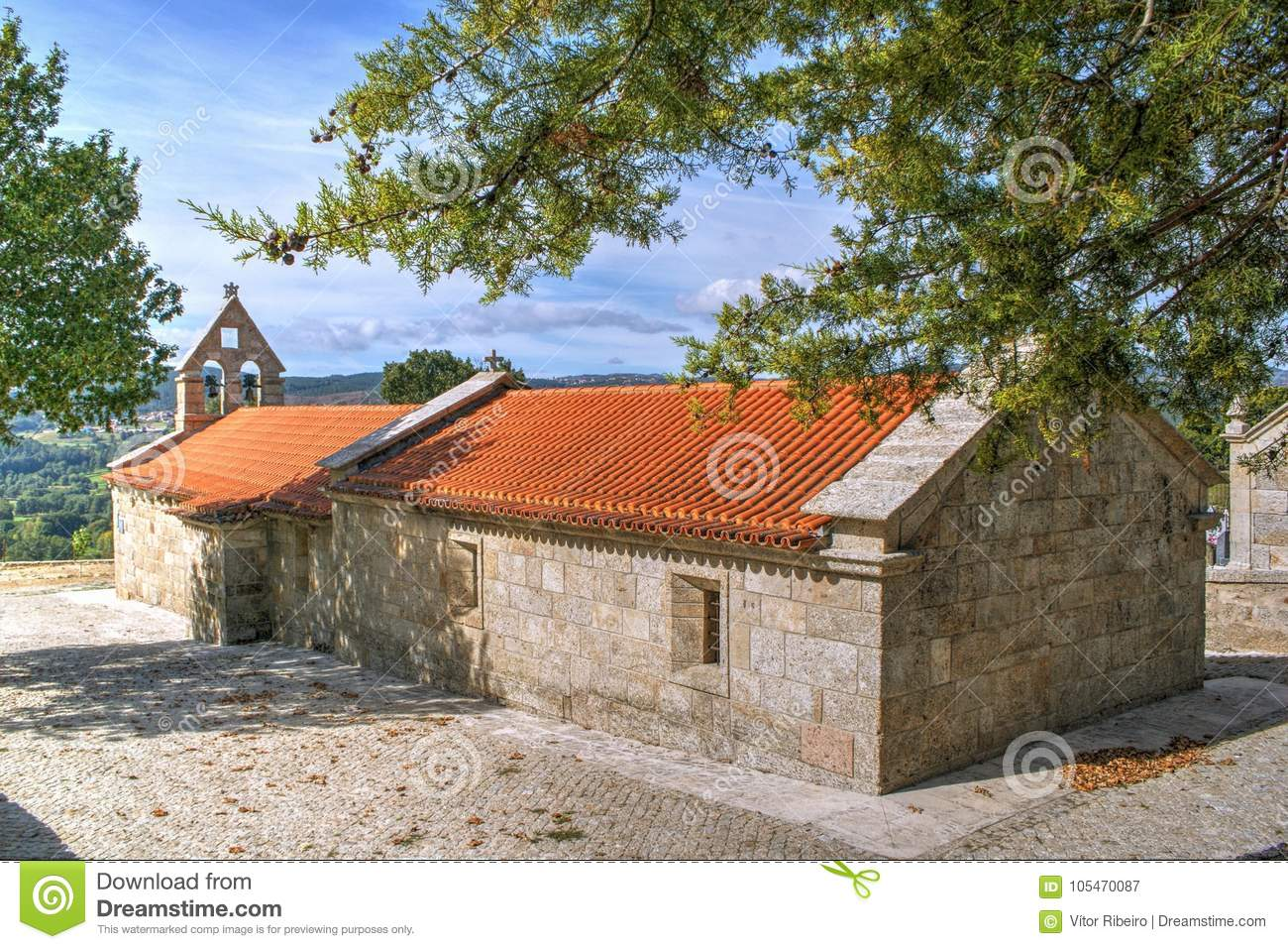 Old little church in Boticas