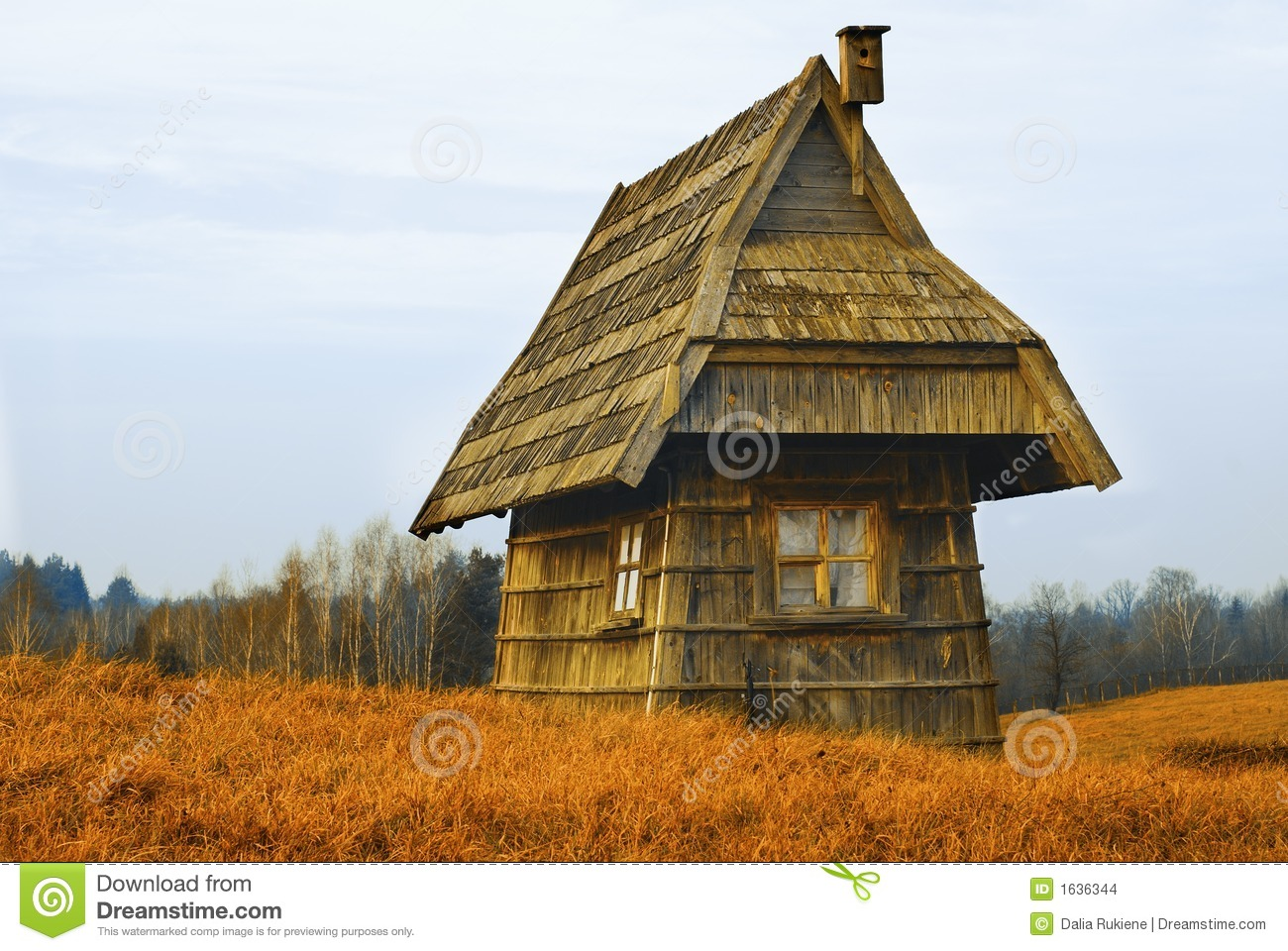 Old Little House Stock Photo Image Of Pioneer Cabin