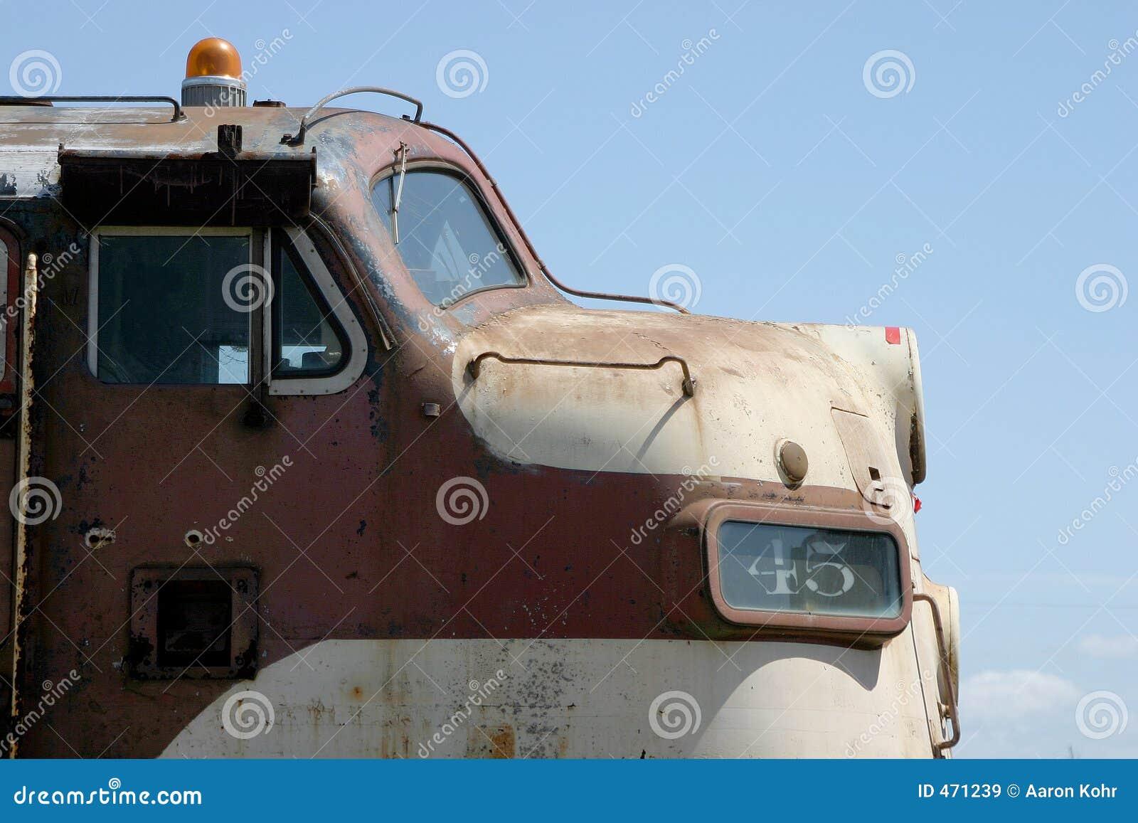 Download Old Locomotive stock image. Image of rust, rail, tracks - 471239