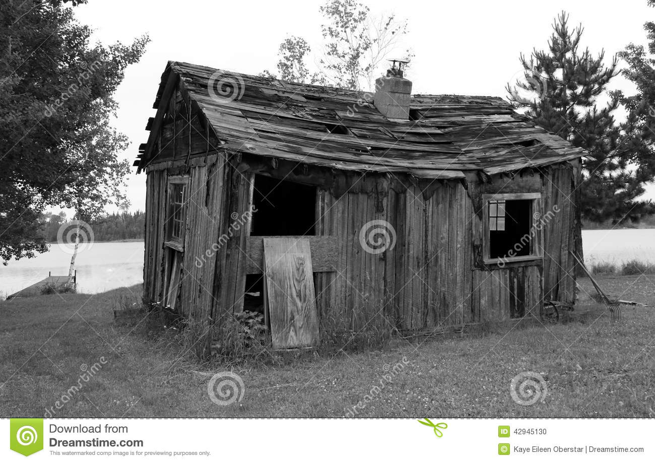 Old log cabin stock photo image 42945130 for Cabins in northern mn