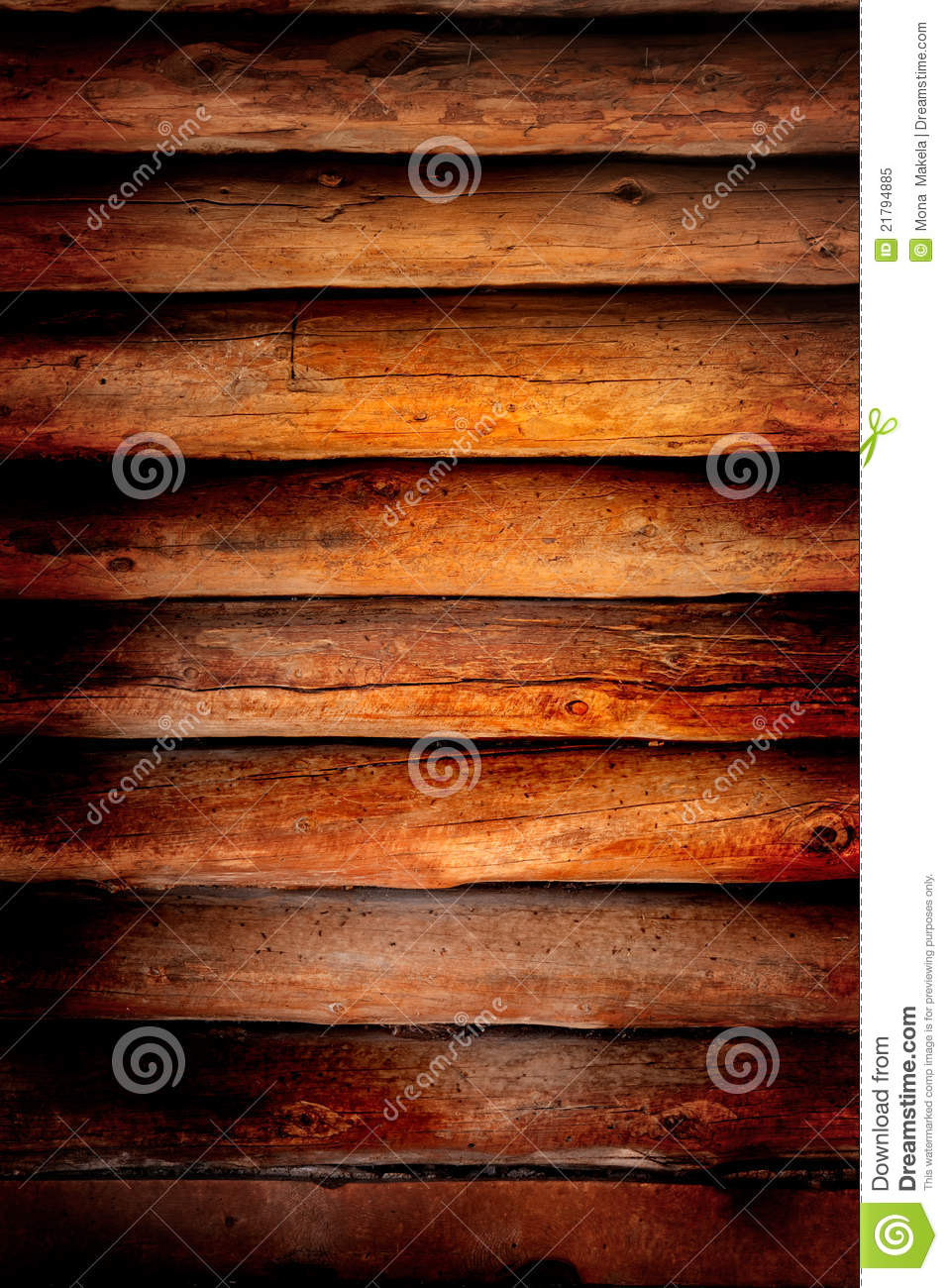 Old Log Cabin Wood Wall Background Royalty Free Stock ...